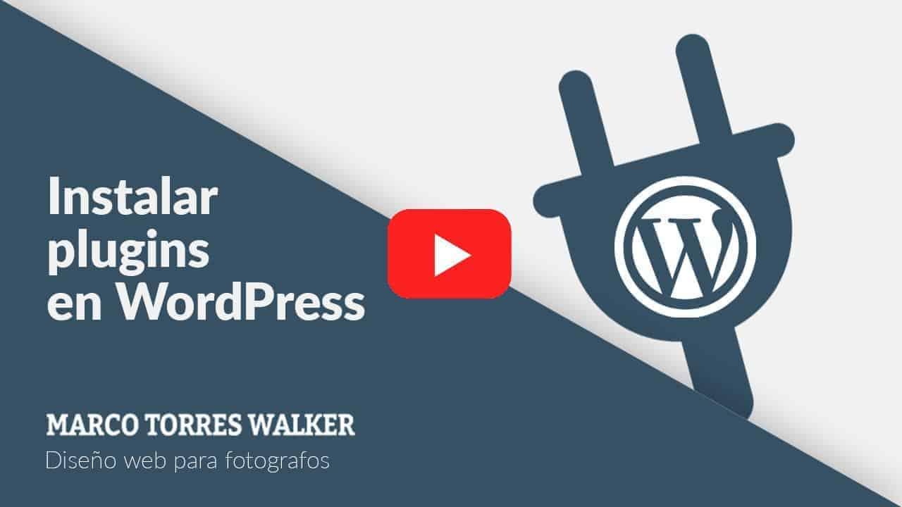 <mark>Aprende cómo instalar plugins en WordPress, en menos de 1 minuto</mark> 1