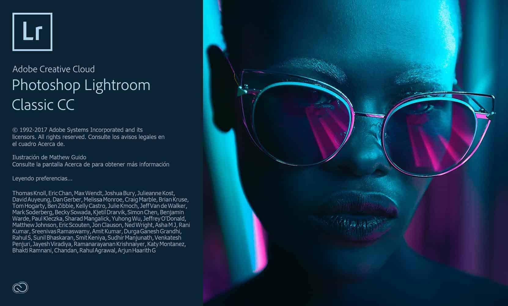 Tamaños de fotos, Adobe Lightroom